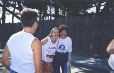 2003 - My first marathon (I'm wearing cotton!)