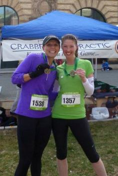 2013 New Bedford Half Marathon with Chrissy Horan