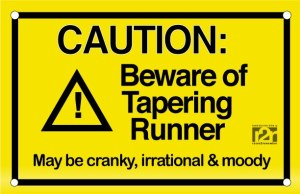 caution taper