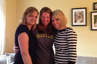 My VT sisters - Betsy and Katie