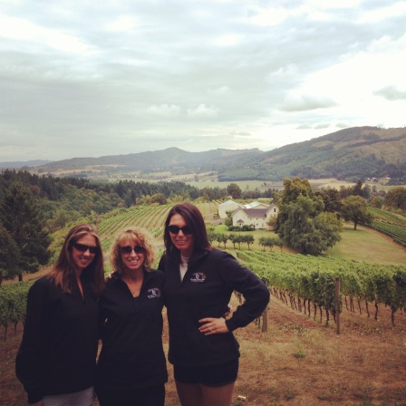More gorgeous views and the ladies in their matching pullovers.