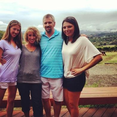 Me, Lauren, Scott and Nancy at