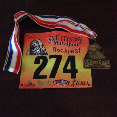 Marathon #14 is in the books!  Thank you Smuttynose Rockfest!