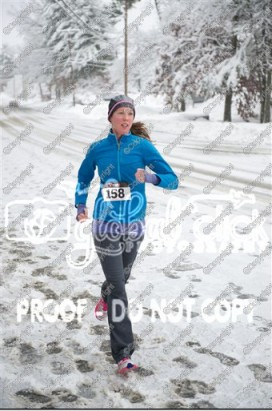 A very snowy Freeze Your Buns 5k