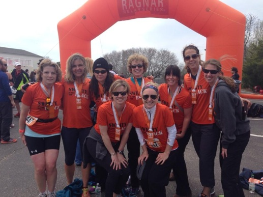 Sweaty is The New Black - Ragnar Cape Cod Finishers!