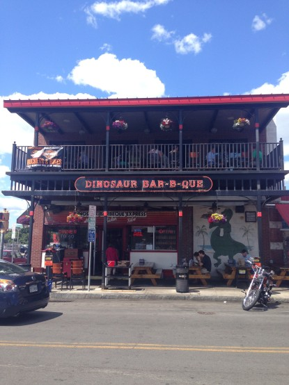 Dinosaur Bar-B-Que.  Literally the best thing in Syracuse.