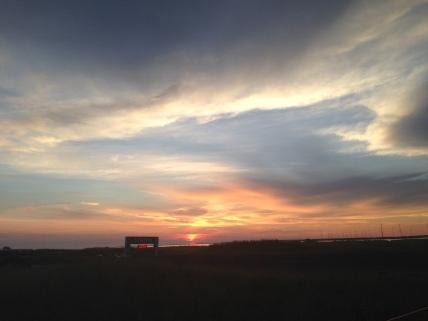 Nantucket Sunrise over the Finish Line